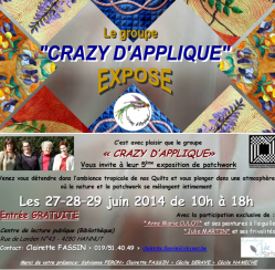 Crazy d'applique